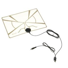 "Антенна ""РЭМО"" BAS-5324-DX, комнатная, активная, 33 дБи, 5В, DVB-T2, цифровая"