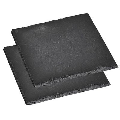 Доска разделочная, 20 × 20 × 0,7 см, натуральный камень, 2 шт.