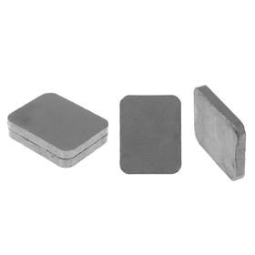 """Магнит """"Прямоугольник"""" набор 4 шт, размер 1 шт. 2,3×1,8 см"""