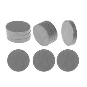 "Магнит ""Круг"" набор 10 шт, размер 1 шт: 1,8 × 1,8 × 0.3 см"