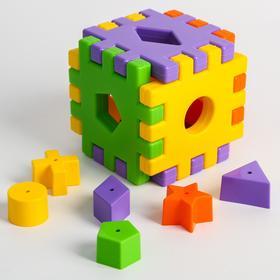 Сортер Жирафики «Кубики», 12 деталей