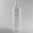 Бутылка одноразовая, 1 л, ПЭТ, без крышки, 100 шт/уп, цвет прозрачный