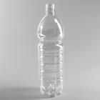 Бутылка 1 л, ПЭТ, прозрачная, без крышки