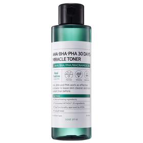 Тонер для лица Some By Mi, с AHA/BHA/PHA-кислотами, для проблемной кожи, 150 мл