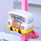 Мобиль музыкальный «Машинка. Мишки на кольце», заводной, наклейка МИКС - Фото 6
