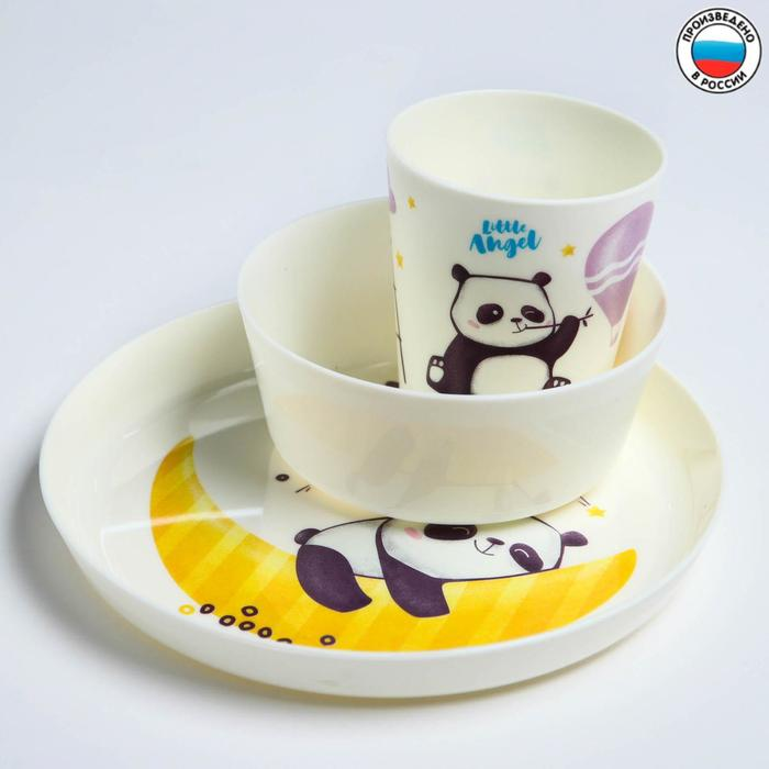 """Набор детской посуды """"Panda"""""""