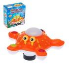 """Развивающая игрушка """"Морская звезда"""", двигается, вращается на 360 градусов, световые и звуковые эффекты, МИКС"""