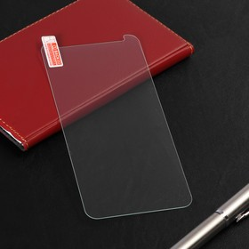 Защитное стекло LuazON для Samsung Galaxy A8 Plus, 0.26 мм, 9Н,