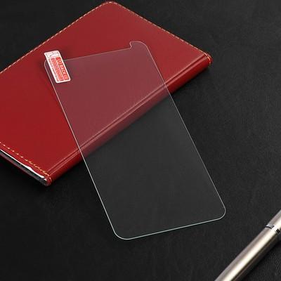 Защитное стекло LuazON для Samsung Galaxy A7 (2018), 0.26 мм, 9Н,