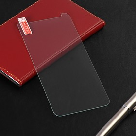 Защитное стекло LuazON для Samsung Galaxy A6 Plus, 0.26 мм, 9Н,