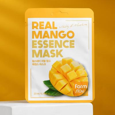 Тканевая маска для лица FarmStay, с экстрактом манго, 23 мл - Фото 1