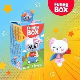 Набор для детей Funny Box «Котик» Набор: радуга, инструкция, наклейки, МИКС