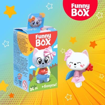 Набор для детей Funny Box «Котик» Набор: радуга, инструкция, наклейки, МИКС - Фото 1