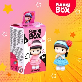 Набор для детей Funny Box «Девочка с мишкой», МИКС