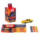 Набор для детей Funny Box «Машинка» Набор: инструкция, наклейки, МИКС