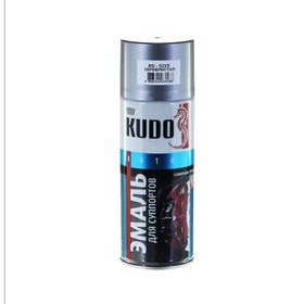 Краска для суппортов KUDO серебро, 520 мл, аэрозоль Ош
