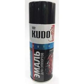 Краска для суппортов KUDO черная, 520 мл, аэрозоль Ош
