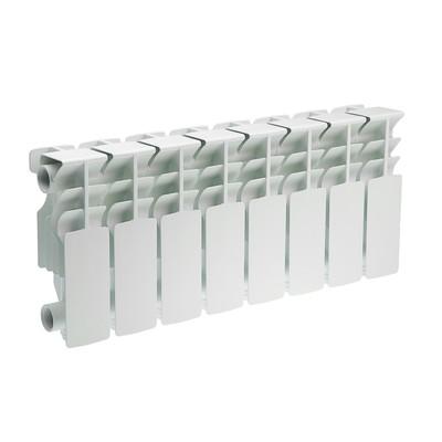 Радиатор алюминиевый Oasis, 200 х 100 мм, 8 секций