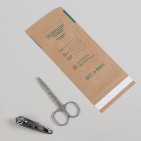 Крафт-пакет для стерилизации, 75 × 150 мм, цвет коричневый Ош