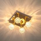 4 лампы