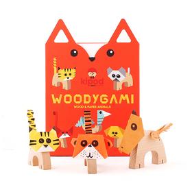 Деревянный набор-оригами «Животные»
