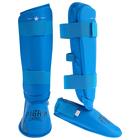 Защита голень+стопа FIGHT EMPIRE, размер XL, цвет синий