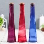 """Ваза """"Бутылка"""" микс h-23.5 см (диам.отверстия 2см) - Фото 4"""