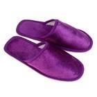 Тапочки детские, цвет фиолетовый, размер 30-31