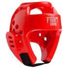 Шлем боксёрский тренировочный FIGHT EMPIRE, размер S, цвет красный