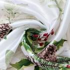 Скатерть Доляна «Шишкин лес» 145×300 см, 100% п/э - Фото 3