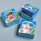 Подарочная коробка «С Новым Годом!», Смешарики, 27,2 х 9,4 х 4,8 см - Фото 2