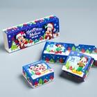 Подарочная коробка «С Новым Годом!», Микки Маус и друзья, 27,2 х 9,4 х 4,8 см