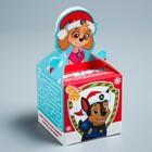 Подарочная коробка «С Новым Годом!», PAW PATROL, 9 х 9 х 9 см - Фото 2