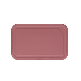 Разделочная доска Brabantia Tasty+, цвет тёмно-бордовый, 25x16 см