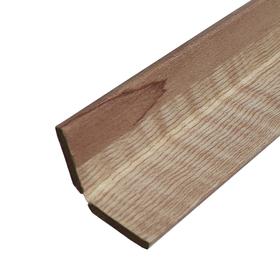 Угол универсальный для МДФ панелей Розовое дерево, 2600x48x3,2 мм Ош