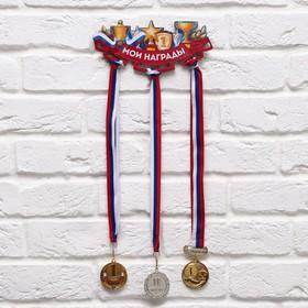 Медальница «Мои награды» 26.3 х 11.3 см Ош