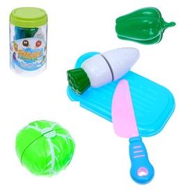 Набор продуктов для нарезки «Овощной микс», в банке, цвета МИКС