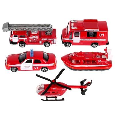 Машина металлическая «Пожарная», масштаб 1:72, МИКС - Фото 1