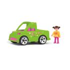 Игрушка «Автомобиль службы озеленения», с водителем