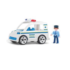 Полицейский автомобиль, с водителем
