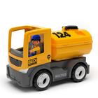 Игрушка «Строительный грузовик-цистерна», с водителем