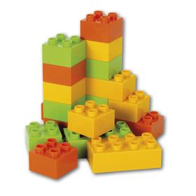 Конструктор «Строительные кубики», 18 деталей