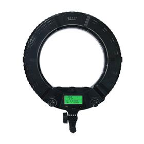 Кольцевая лампа OKIRA LED RING AX 480 E, 48 Вт, 240 светодиодов, d=45 см, + штатив, дисплей
