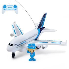Самолёт радиоуправляемый «Авиалиния», работает от батареек Ош