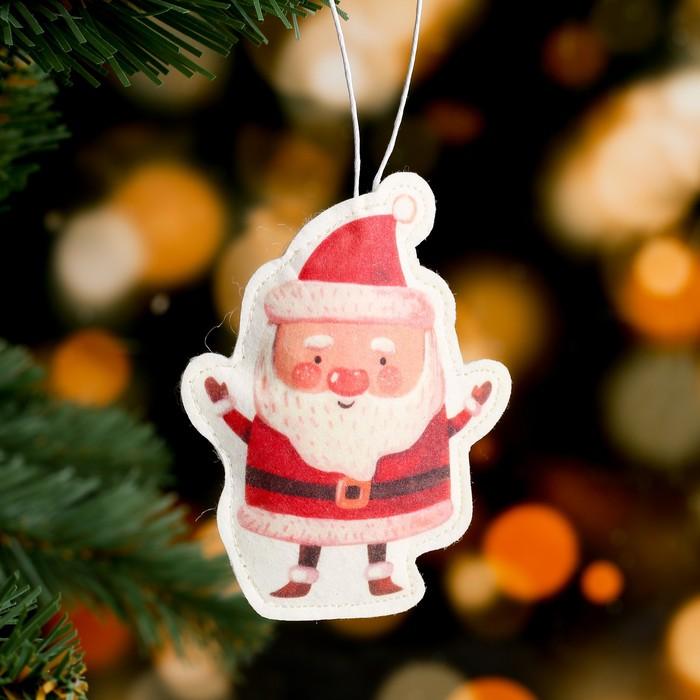 Подвеска Дед Мороз, 99 см, термопечать, фильц