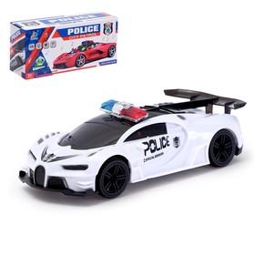 Машина «Полиция», световые и звуковые эффекты, работает от батареек, МИКС