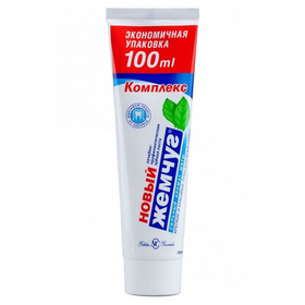 Зубная паста «Новый жемчуг»», с сильным ароматом мяты, 100 мл