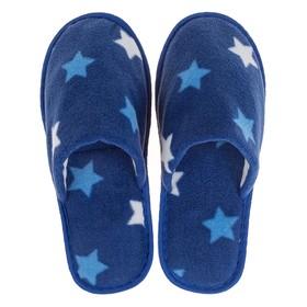 Тапочки женские цвет синий, размер 35
