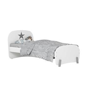 Кровать детская Polini kids Mirum 1910, цвет белый Ош