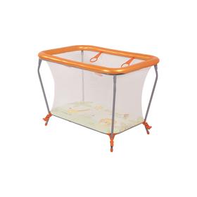 Манеж Polini kids Basic «Джунгли», цвет оранжевый Ош